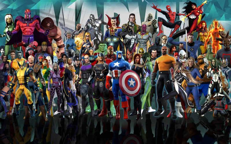 Alle Marvel Helden