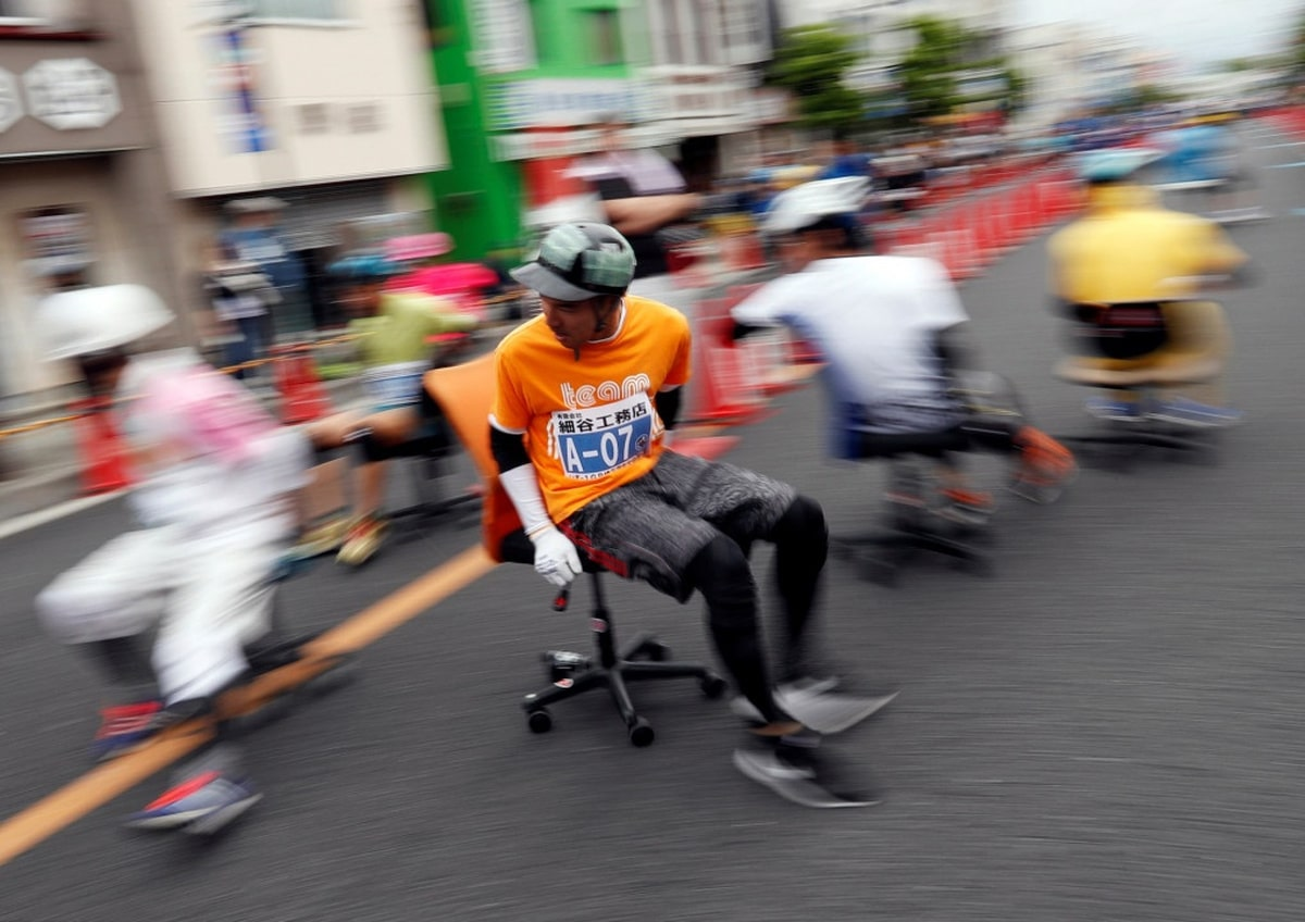 Office Chair Racing: Competition Rules | TeraNews.net